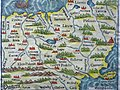 1550 Map of Poland - Book Museum - National Library - Minsk - Belarus (27448006382).jpg