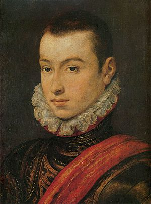Fidalgo - Portrait of a Young Fidalgo; a 16th-century rendition of a young Portuguese nobleman.