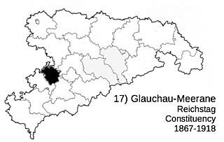 Glauchau-Meerane Reichstag constituency