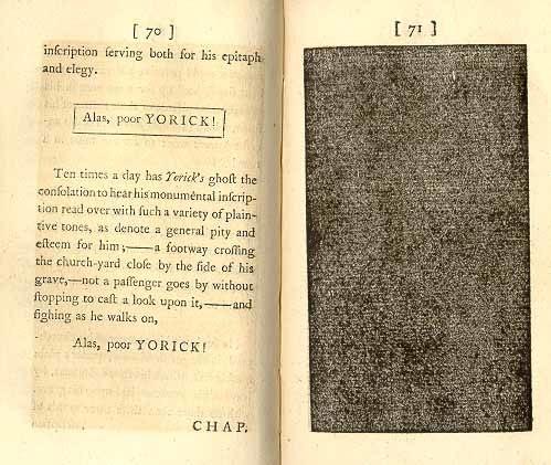 1769 Laurence Sterne Tristram Shandy v6 p70