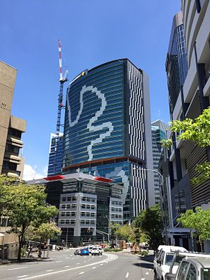 180 Brisbane - Construction of 180 Brisbane in October 2015