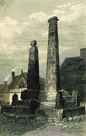 Sandbach Crosses - Image: 1819 sandbach crosses ormerod