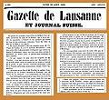 18580830 La grotte de Lourdes ... Gazette de Lausanne.jpg