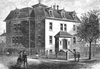 Cummings and Sears - Image: 1871 Capen School Boston