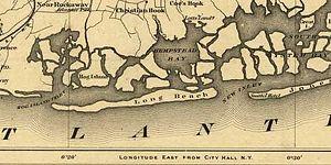 Hog Island (New York) - Map of Hog Island, 1873