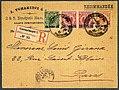 1891 registered DP Constantinopel 1 Paris Mi6&7&9.jpg