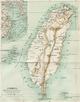 1896年台湾地图