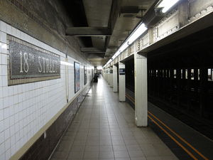 18th Street (IRT Broadway–Seventh Avenue Line)