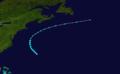 1929 Atlantic tropical storm 3 track.png