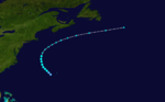 1929 Atlantic tropical storm 3 track.png
