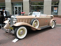 Una Chrysler Imperial del 1932