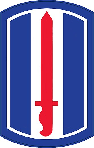 193rd Infantry Brigade (United States) - Shoulder sleeve insignia