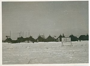 Yonpo Airfield - MGCIS-1 radar site located at Yonpo Airfield in December 1950.