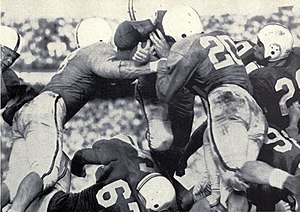 1951 Maryland Terrapins football team - Scarbath tallied the first points of the game on a successful quarterback sneak.