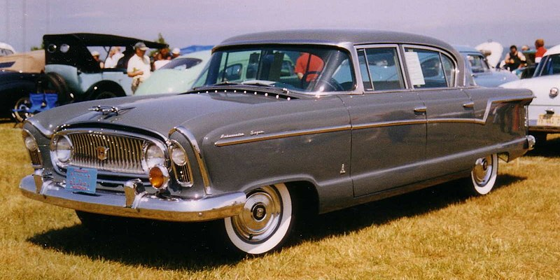 File:1956 Nash Ambassador Super four-door Sedan.jpg