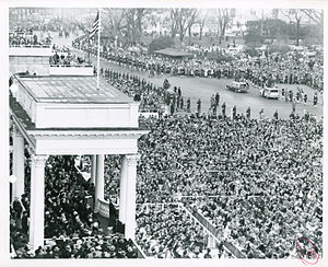 Second inauguration of Dwight D. Eisenhower - Image: 1957 Inauguration of President Eisenhower