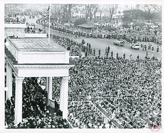 Second inauguration of Dwight D. Eisenhower 50th United States presidential inauguration