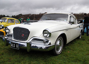 Studebaker Silver Hawk - 1960 Studebaker Hawk, export model with the 259 V8