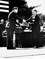 1961. Robert L. Furniss receiving award from Secretary of Agriculture Orville Freeman. (35164373665).jpg