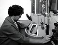 1963. Fundamental research on pathogenic micro-organisms is aided by the use of the electron microscope. Corvallis, Oregon. (33934802863).jpg