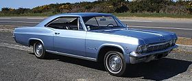 1965 Chevrolet Impala 300 hp V8 big Block Engine.JPG