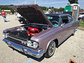 1966 AMC Marlin in Marquessa Light Mauve with black vinyl at AMO 2015 meet 06.jpg