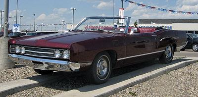 1969 Ford Galaxie 500 Convertible