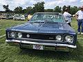 1969 AMC Rebel SST 2-door hardtop in blue at 2015 AMO show 2of5.jpg