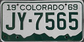 1969 Colorado license plate.JPG