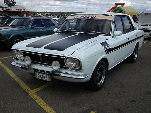 1970 Ford Cortina Mk II GT sedan (7708157140)