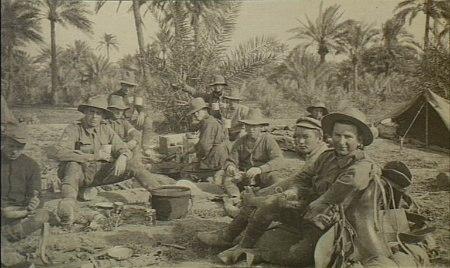 1st Australian Wireless Signal Squadron Baghdad 1917