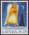 20021123 15sant Latvia Postage Stamp A.jpg