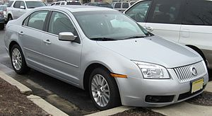 Passenger vehicles in the United States - The Mercury Milan, despite being manufactured in Mexico, is still considered a domestic vehicle.