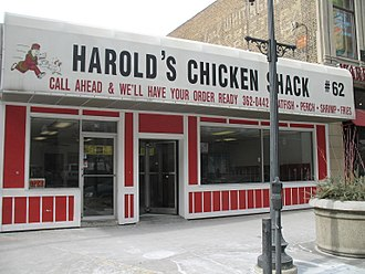 Harold's Chicken Shack - Image: 20070131 Harold's Chicken Shack 2