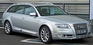 Audi allroad quattro - Image: 2007 Audi A6 (4F) allroad quattro 3.0 TDI station wagon 02
