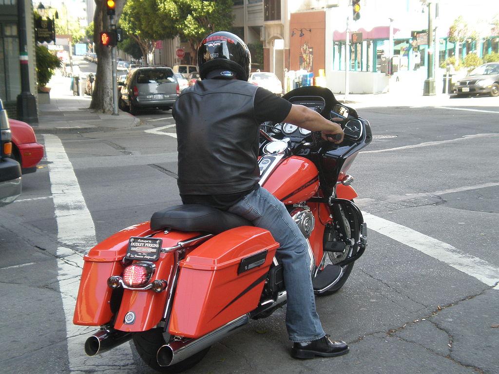 Harley Davidson Street Glide Denim Black