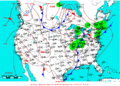 2009-05-28 Surface Weather Map NOAA.png
