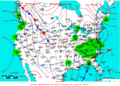 2010-01-30 Surface Weather Map NOAA.png