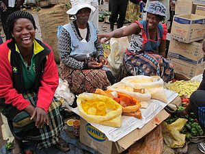 Mbare, Harare - Venders at Mbare Musika