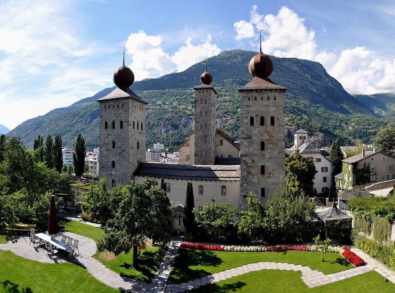 Brig Switzerland  city photos gallery : ... 08 16 16 21 39 Switzerland Canton du Valais Brig Stockalper 4v