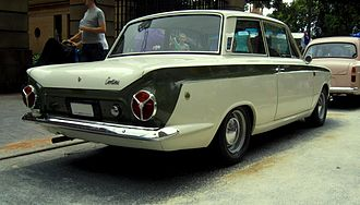 Lotus Cortina - Ford Cortina Lotus Mk 1