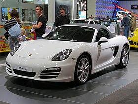 2012 Porsche Boxster (981) convertible (2012-10-26) 01.jpg