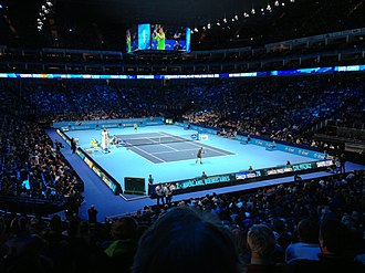 2013 ATP World Tour Finals - Singles play on the O2 Arena during the 2013 event
