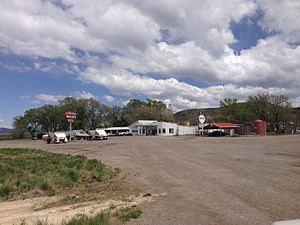 Lages Station, Nevada - Image: 2014 05 21 13 48 36 Buildings in Lages Junction, Nevada