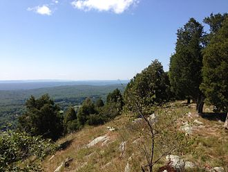 North Jersey - Image: 2014 08 25 11 44 48 View south southwest from the Appalachian Trail about 10.2 miles northeast of the Delaware Water Gap in the Delaware Water Gap National Recreation Area, New Jersey