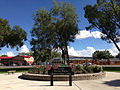2014-09-21 14 43 16 Circle garden in the Kelly Ostler Horizon Hospice Memorial Rose Garden in the main city park of Elko, Nevada.JPG