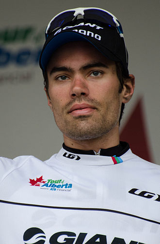 2014 Tour of Alberta - Tom Dumoulin, winner of the prologue and youth classification