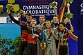 2014 Acrobatic Gymnastics World Championships - Men's pair - Awarding ceremony 09.jpg