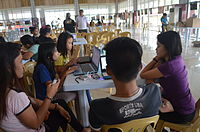 2014 Waray Wikipedia Edit-a-thon 18.JPG