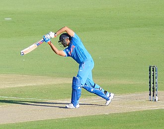 Rohit Sharma - Sharma during the 2015 Cricket World Cup in Australia.